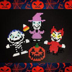 Nightmare Before Christmas perler beads by akirockrock