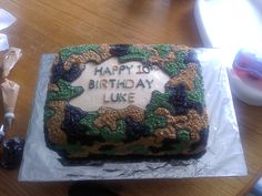 Another Camo. cake