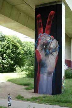 "rfmmsd:   Artist: Case Maclaim ""Strike Back"" City: Lörrach Baden-Württemberg, Bridge Gallery."
