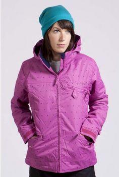 Fashionable ski jacket from West 49!