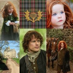Beautiful Pictures with a English, Victorian, Scottish and Irish twist.Outlander Jamie Claire Brianna Fraser   https://www.ouwbollig.eu https://www.facebook.com/ouwbollig.eu/?
