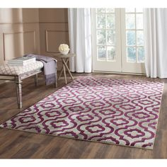 This rug is crafted using a power-loomed construction with a polypropylene pile and features main accent color of light grey. All rug sizes are approximate. Due to the difference of monitor colors, some rug colors may vary slightly.