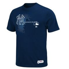 MLB New York Yankees Authentic Collection Change Up Basic T-Shirt Navy Majestic. $14.99