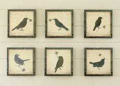 2 of 5 Cottage Hill: Ballard Bird Knock-offs (with printable pattern)