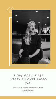 5 Tips to confidently do a job interview through video call