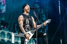 Bullet For My Valentine, Rock N Roll, Stage, Punk, Concert, Clothing, Outfits, Clothes, Rock Roll