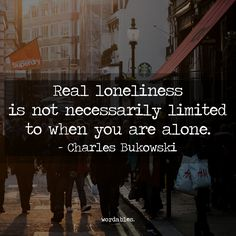 By his own admission Charles Bukowski was a dirty old man and a loner. More comfortable in the company of a bottle