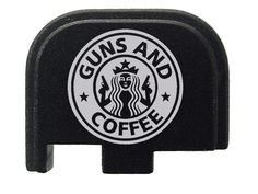 Guns and Coffee Rear Slide Cover Plate for Glock 42 by NDZ Performance Custom Glock, Custom Guns, Glock 42, Country Girls, Country Living, Thing 1, Hunting Guns, Gun Control, Guns And Ammo