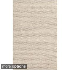Jani Peri Tan Wool and Jute Rug (8' x 10') - 18897160 - Overstock.com Shopping…