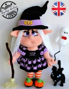 (4) Name: 'Crocheting : witch elf