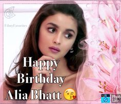 #beautygoals #makeupgoals #aliabhatt #happybirthday #birthdaygirl #sweet #babydoll ❤️❤️❤️❤️