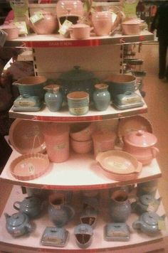 Pastel blue and pink Le Creuset - all under £19.99! Great buys!