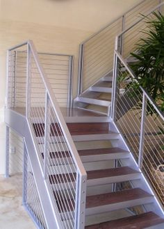 Ultra-tec stair cable railing. http://thecableconnection.com/ultra-tec.html