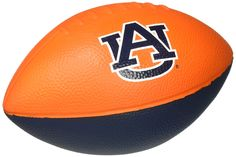 """Patch Products Auburn Tigers Football. Products that are great fun from children to adults. High quality toys and games. Games and toys that the whole family can enjoy. Features your favorite college logo and colors. Approximately 8"""". This is an officially Licensed Collegiate Product."""