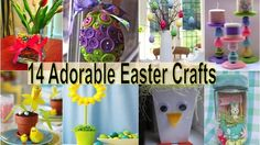 14 Adorable Easter Crafts