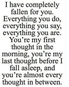 Beautiful Typography Romance I Love You Lovely True Love Everything Love  Quotes Romantic Fallen For You Morning Affection Naw Completely Quote  Picture My ...