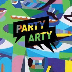 Party Arty Berlin Flyer #partyartyberlin #berlin Rapper, Partys, Berlin, Logos, Concert, Kunst, Logo