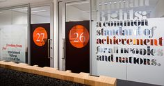 Australian Human Rights Commission environmental graphics   BrandCulture Communications