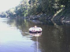Hannah at the river