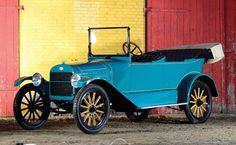 1915 Metz Model 25 Touring   Aalholm Automobile Collection 2012   RM AUCTIONS