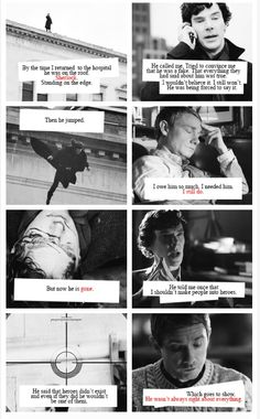 Sherlock Holmes and John Watson ~Hit me with all the things. Right in the feels.