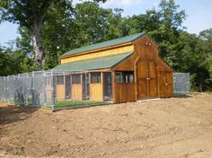 I love the idea of turning a big barn into a dog kennel!