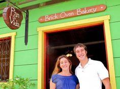 Expat bakery, Nicaragua