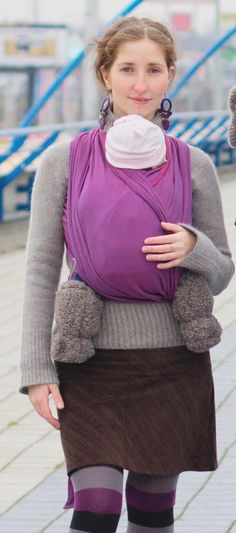 2647fc915bf Storchenwiege Woven Cotton Baby Carrier Wrap 4.1 Leo Violet     Details can  be found by clicking on the image.-It is an affiliate link to Amazon.