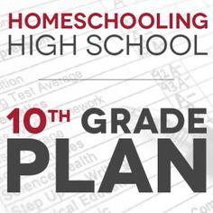Homeschool High School: Our 10th Grade Plan