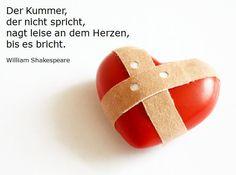 Der Kummer, der nicht spricht... (William Shakespeare) #quote #zitat
