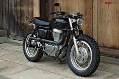 Scrambler motorcycle by Speedtractor