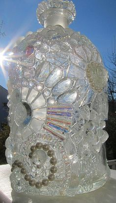 Clear Crystals - Mosaic Bottle | Flickr - Photo Sharing!