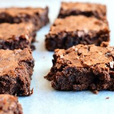 moist, fudgy, chocolatey with just a hint of coffee, these brownies are good to their last crumb