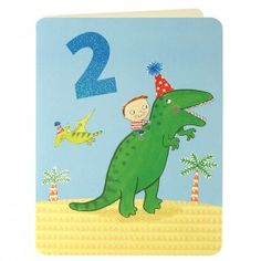Boy Age Two Card