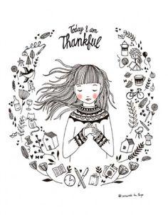 marieke ten berge 'poster thankful'