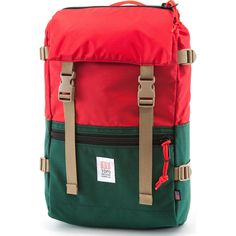 Topo Designs Rover Pack Backpack | Forest/Red