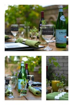 Dining al fresco - Savoring last days of Summer