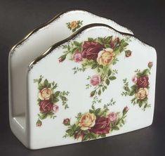 Replacements, Ltd. Search: Napkin holder old country roses