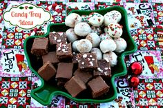 Mommy's Kitchen: Egg Nog & Sugar Cookie Oreo Truffles + {More Candy Tray Ideas}