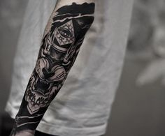 Fearsome forearm piece by otheser_dsts