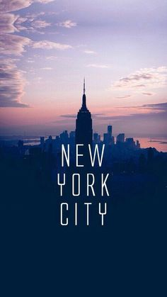 New York City city lights Empire State Building wallpaper Hipster Phone Wallpaper, New York Iphone Wallpaper, City Wallpaper, Travel Wallpaper, Tumblr Wallpaper, Sunset Wallpaper, Iphone Wallpapers, Wallpaper Quotes, Photographie New York