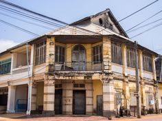 Things to Do in Kampot: A Detailed Guide to Our Favourite Town in Cambodia Kampot, French Colonial, Architecture Old, Angkor, Us Travel, The Good Place, Things To Do, Mansions, House Styles