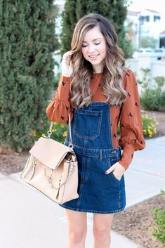 db46e222d9d How To Style an Overall Dress -