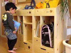 子ども用ラック 整理棚 | ハンドメイド、手作り作品の通販 minne(ミンネ)