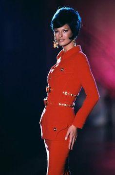 1993 Versace - Linda Evangelista