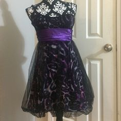 "Speechless prom dress Nice purple dress,size M,100% polyester;contrast:95% polyester,5% spandex,30"" long Speechless Dresses Mini"