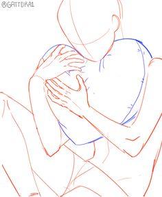 Drawing Base, Manga Drawing, Art Drawings Sketches, Cute Drawings, Art Tutorials, Drawing Tutorials, Drawing Body Poses, Manga Poses, Anime Poses Reference