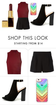 """""""Sans titre #4362"""" by merveille67120 ❤ liked on Polyvore featuring Glamorous, Boutique Moschino, Bamboo, Casetify and Tom Ford"""