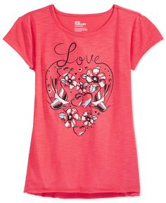 Epic Threads Girls' Love T-Shirt, Only at Macy's - Kids & Baby - Macy's