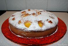 Torta con le pesche, scopri la ricetta: http://www.misya.info/2011/08/09/torta-con-le-pesche.htm